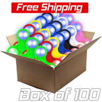 LED Fidget Spinner 100 Pack