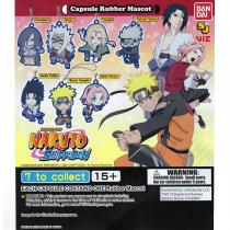Naruto Rubber Mascot Collection - [50 Capsules]