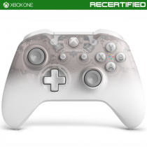 Xbox One Phantom White Wireless Controller (Recertified)