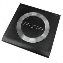 PSP 1000 UMD Door with Steel Ring BLACK