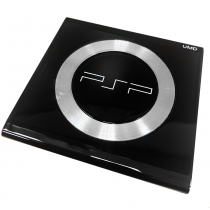 PSP 2000 UMD Door with Steel Ring (Black)