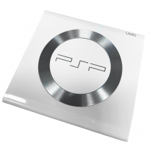 PSP 2000 UMD Door with Steel Ring (White)