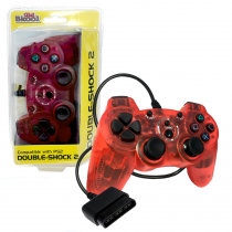 PS2 Wired DOUBLE-SHOCK 2 Controller (RED)