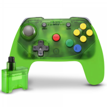 Retro Fighters Brawler64 Controller Wireless - Green