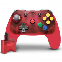 Retro Fighters Brawler64 Controller Wireless - Red