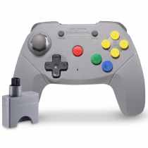 Retro Fighters Brawler64 Controller Wireless - Grey