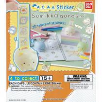 Gashapon! Sumikko Gurashi Cap-Chara Stickers - [50 Capsules]