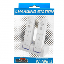 Wii Dual Charging Station w/ 2 Rechargeable Batteries & LED lights for Wii Remote Control