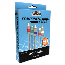 Component AV Cable for Nintendo Wii / Wii U (RETAIL)