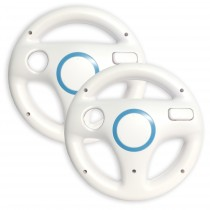 Old Skool Wii Wheel WHITE (BULK)