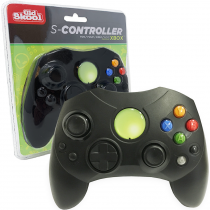 Xbox Controller S-Type Wired Game Pad - Black