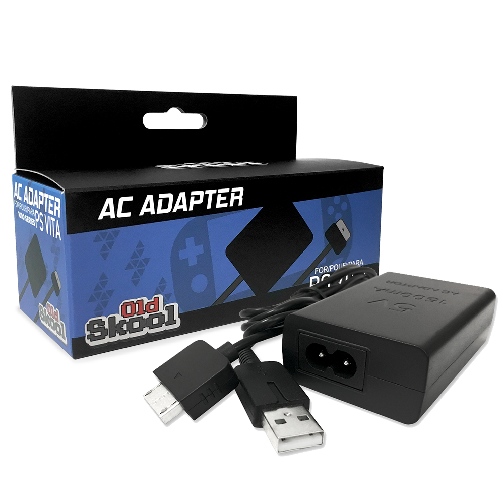 PlayStation Vita AC Adaptor with USB Data Cable