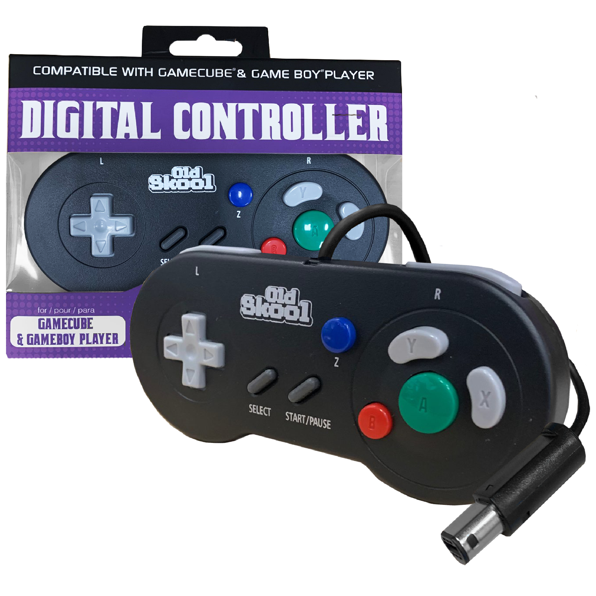 Digital Controller compatible with Gamecube & Gameboy Player