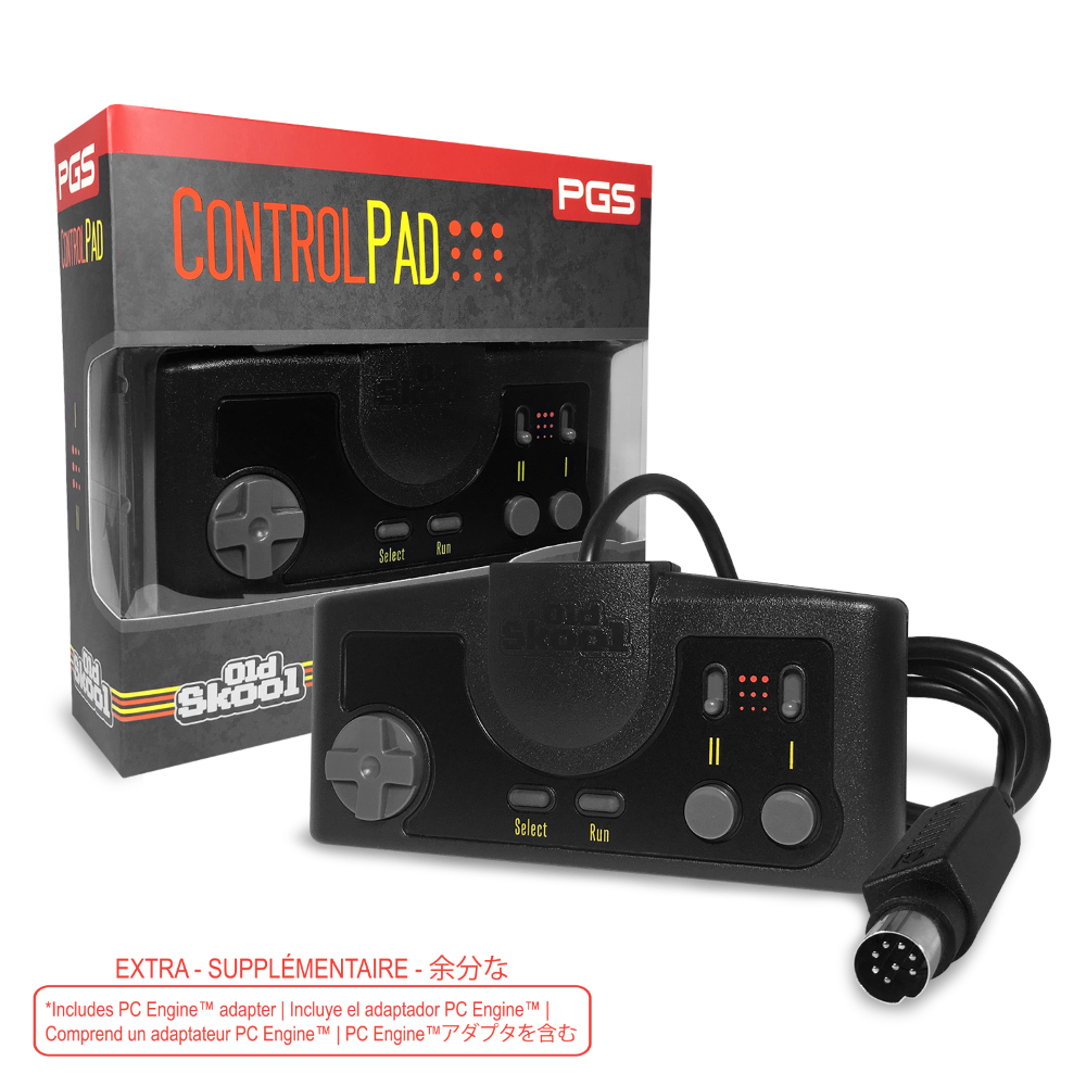 PGS - TG16 & PC Engine Controller