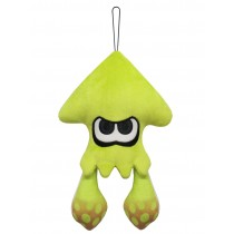 Inkling squid Neon Yellow 9 Inch Plush