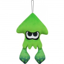 Inkling squid Neon Green 9 Inch Plush