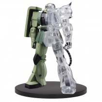Mobile Suit Gundam Internal StructureMS-06F Zaku II Figure (ver.1)