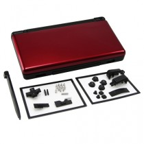 Replacement Single Injection Full Shell (Crimson Red/ Black)