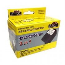 3 in 1 AC Adapter - SNES / NES / Genesis 1