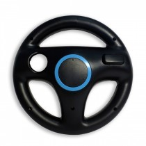 Old Skool Wii Wheel BLACK (BULK)