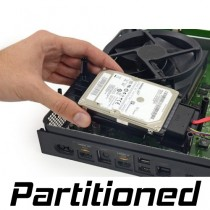 500 GB Hard Drive with Partitions