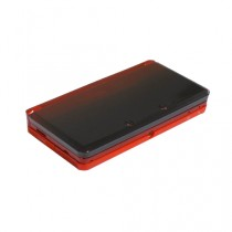 3DS Replacement Dual Injection Full Shell - FLAME RED