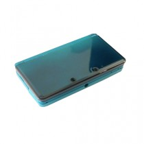 3DS Replacement Dual Injection Full Shell - AQUA BLUE