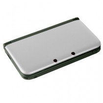 3DS XL Replacement Dual Injection Full Shell - (SILVER)