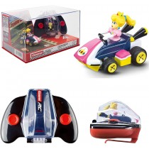 Nintendo Mario Kart Mini Collectible Remote Control Car - Peach