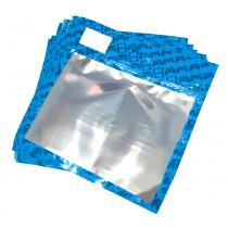 30 Pack of Blue Resealable Bags (Medium)