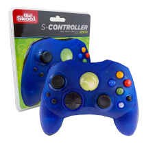 Xbox Controller S-Type Wired Game Pad - Blue