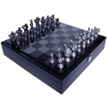 Super Street Fighter 25th Anniversary Chess Set