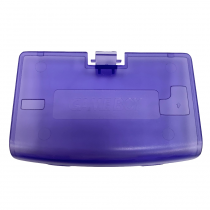 GBA Battery Cover CLEAR PURPLE