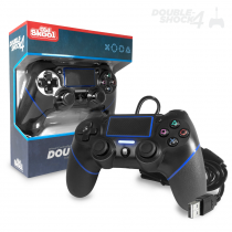 DOUBLE-SHOCK 4 Wired Controller for PS4 - Jet Black