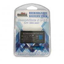 Rechargeable 3.7V Li-Ion Battery Pack for Nintendo DSi
