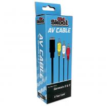 AV Cable for Sega Genesis 2, 3, Nomad, or 32x (RETAIL)