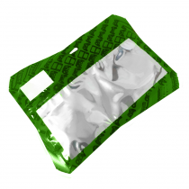 30 Pack of Green Resealable Bags (Small)