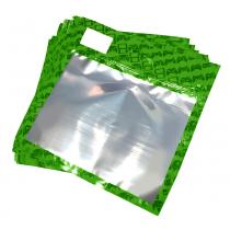 30 Pack of Green Resealable Bags (Medium)