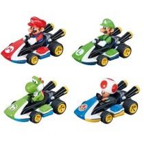 Mariokart Pullback Toys (4-Pack) **PRE-ORDER**