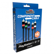 Component AV Cable for PS2, PS3 (RETAIL)