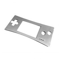 GameBoy Micro Replacement Faceplate (SILVER)