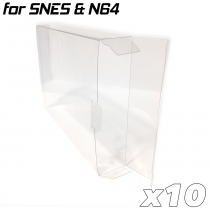 Game Box Protective Sleeve For N64 & SNES (10x)