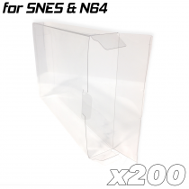 Game Box Protective Sleeve For N64 & SNES (200x)