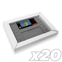 SNES Cardboard Box Insert (20 Pack)