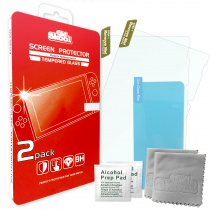 TEMPERED GLASS SCREEN PROTECTOR 2PACK FOR SWITCH