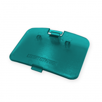 N64 Expansion Port Cover - Turquoise