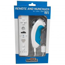 Wii Remote and Nunchuck Combo for Wii / Wii U - White