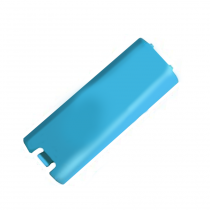 Wii Remote replacement battery cover (BLUE)