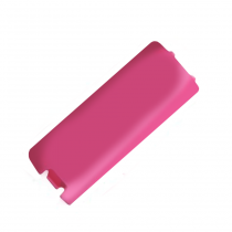 Wii Remote replacement battery cover (PINK)
