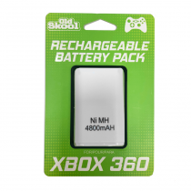 XBOX 360 Battery Pack - WHITE